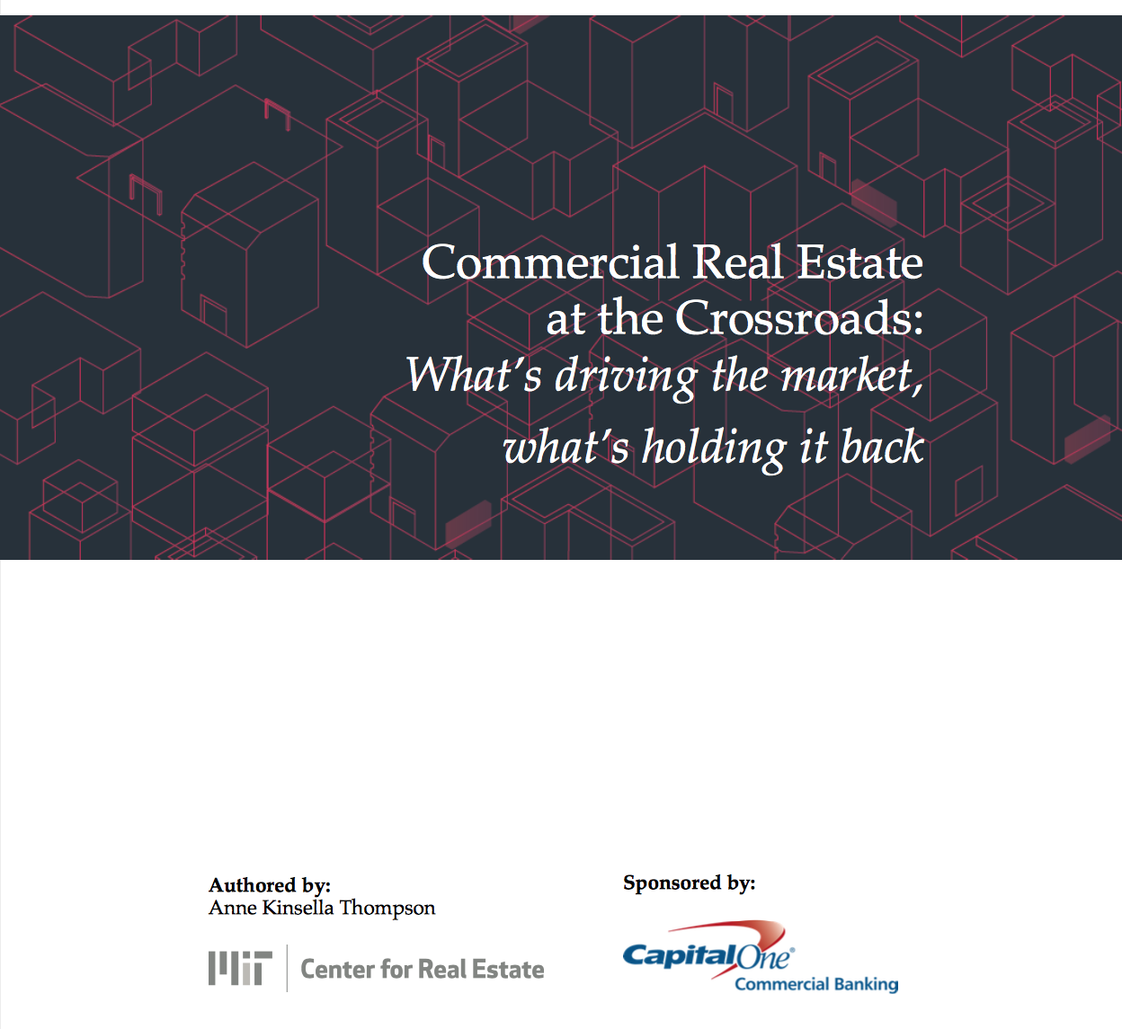 MIT CRE 2018 CRE Trends
