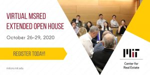 Virtual MSRED Extended Open House
